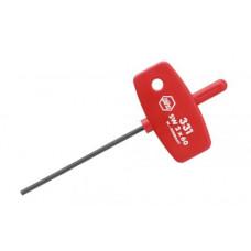 WH-00895 Шестигранная отвертка с рукояткой-ключико..