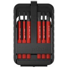 WH-43159 Набор бит slimBit electric slimVario шлиц, Phillips, 6 шт. в SlimBit box 43159 WIHA